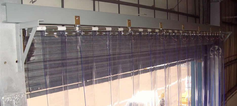 Pvc Strip Curtains Installed  Bolton